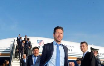 Atlético de Madrid desembarca em Milão para decisão da Champions