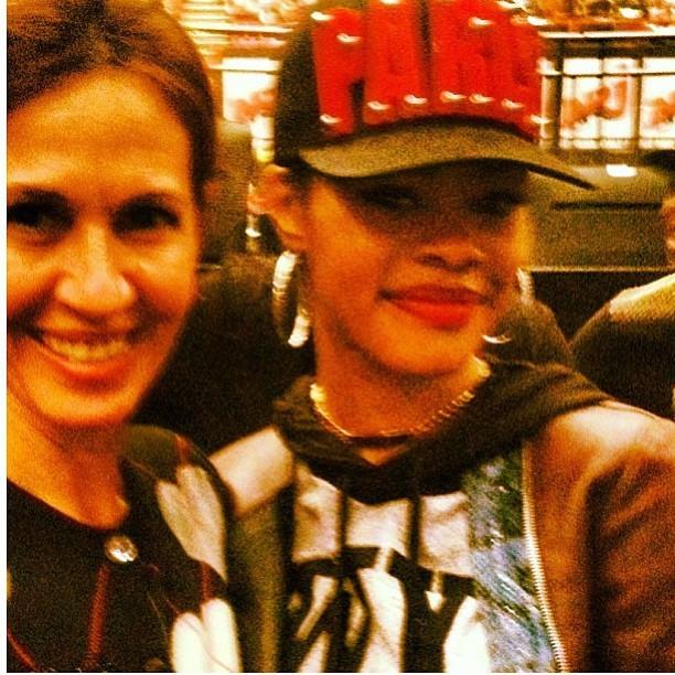 Flora Gil e Rihanna (Foto: Reprodução/Instagram)