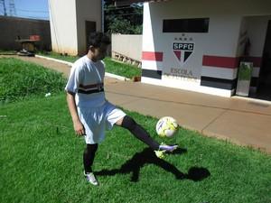 Douglas Giovany Borim é selecionado para treinar na Ponte Preta (Foto: Divulgação)