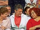 Nas redes sociais, famosos comentam a vitória de Dilma (Reprodução/Instagram/Alcione)