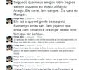"""Felipe Melo se retrata após comentário sobre Márcio Araújo: """"A cara do Mengão"""""""