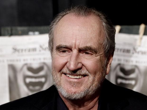 O cineasta americano Wes Craven, ícone do terror e diretor de filmes como 'A hora do pesadelo' (1984) e 'Pânico' (1996), em foto de 16 de outubro de 2010 (Foto: Matt Sayles/AP)