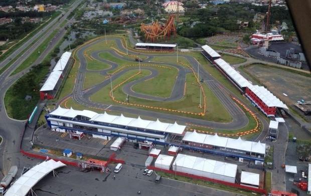 Kartódromo Beto Carrero World - Penha - Santa Catarina - Desafio das Estrelas (Foto: Divulgação)
