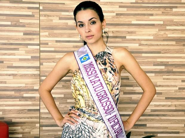 Miss Mato Grosso 2014 J�ssica Rodrigues (Foto: Stephanie Freitas/G1)