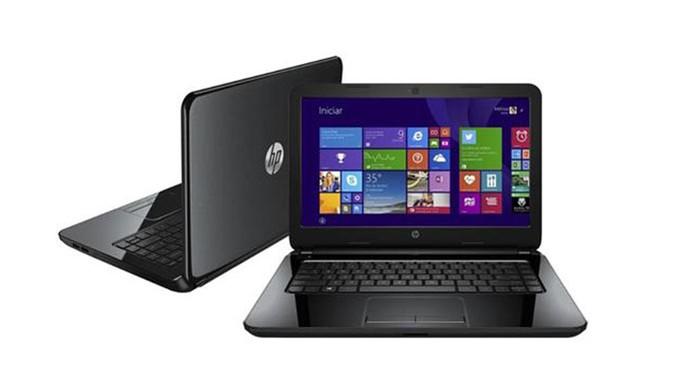 Notebook da HP tem memória RAM de 4 GB e tela de 14 polegadas (Foto: Divulgação/HP)