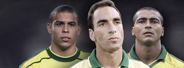 BLOG: Sem ficar no muro: ex-parceiro de Romário e Ronaldo, Edmundo diz quem jogou mais
