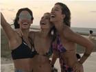 Bella Falconi, Gabriela Pugliesi e Marcella Fetter mostram boa forma