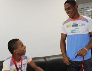 Euzébio e Silvestre - Caic Balduino Barbosa de Deus (Foto: Náyra Macêdo/GLOBOESPORTE.COM)