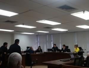 STJD, Treze, Campinense, julgamento (Foto: Daniela Lameira / STJD)