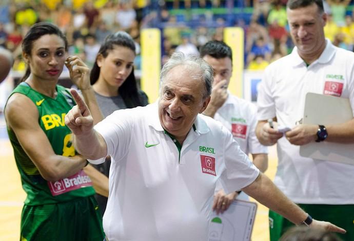 Barbosa, seleção brasileira de basquete feminino (Foto: Divulgação CBB)