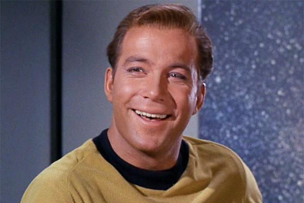 William Shatner em cena de 'Star Trek' (Foto: Divulgação)