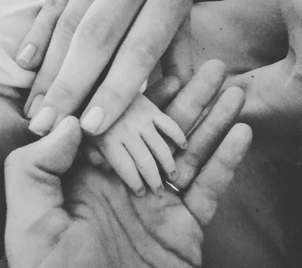 Felipe Andreoli anunciou o nascimento de Rocco no Instagram (Foto: Reprodução/Instagram)