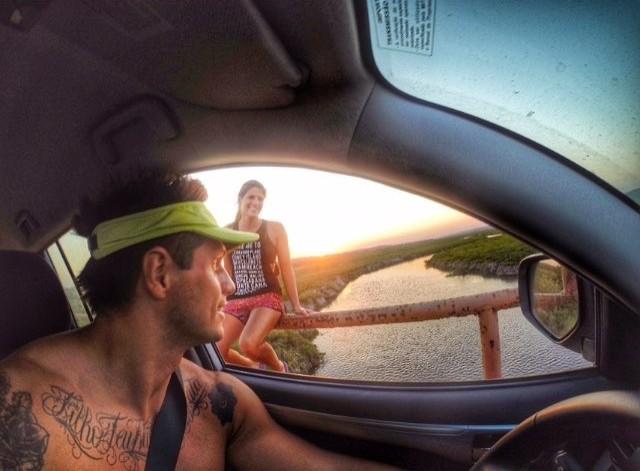 Fernando Fernandes  Viktoria Schwarz férias  (Foto: Reprodução Instagram)