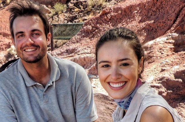 Max Fercondini e Amanda Richter (Foto: Reprodução)