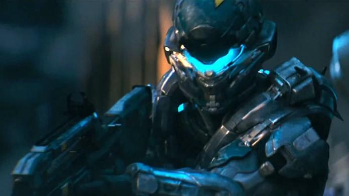 O Spartan Locke promete ser parte essencial de Halo 5: Guardians (Foto: Reprodução/Gematsu)