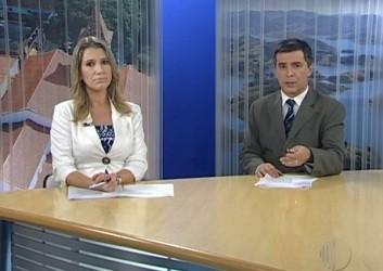 Lenina Velloso e Dino Rodrigues (Foto: Reprodução / TV Diário)