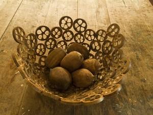 Artesanato feito com o coco babçu (Foto: Fabio Del Re/Sebrae Tocantins)