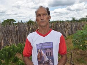 José Marinho relembra época da inundação e vibra com novo momento (Foto: Alonso Gomes/Arquivo Pessoal)