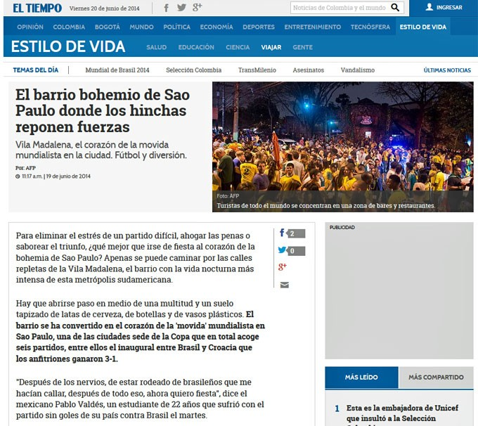 Jornal colombiano