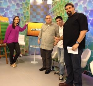 Programa do Cartola FC - Reunião de precificação 2 (Foto: Globoesporte.com)