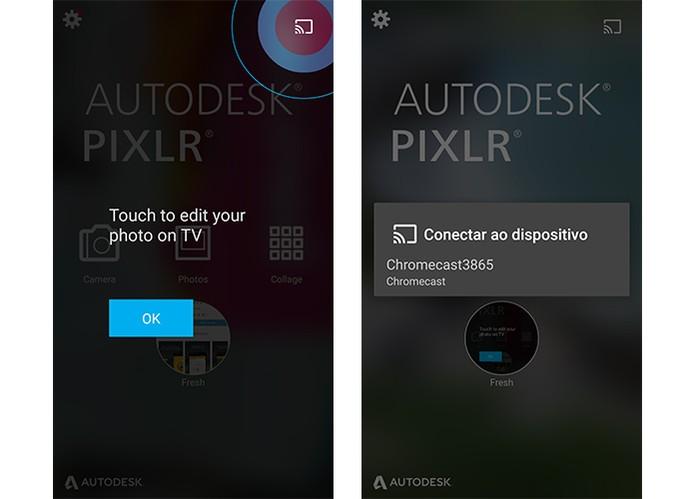 Editor Pixlr ganha suporte para Chromecast (Foto: Reprodução/Barbara Mannara)