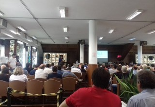 Conselho Deliberativo do Santos (Foto: Lucas Musetti)