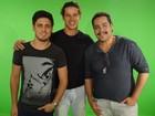 Novos talentos: Daniel Rocha, José Loreto e Tiago Abravanel pedem votos