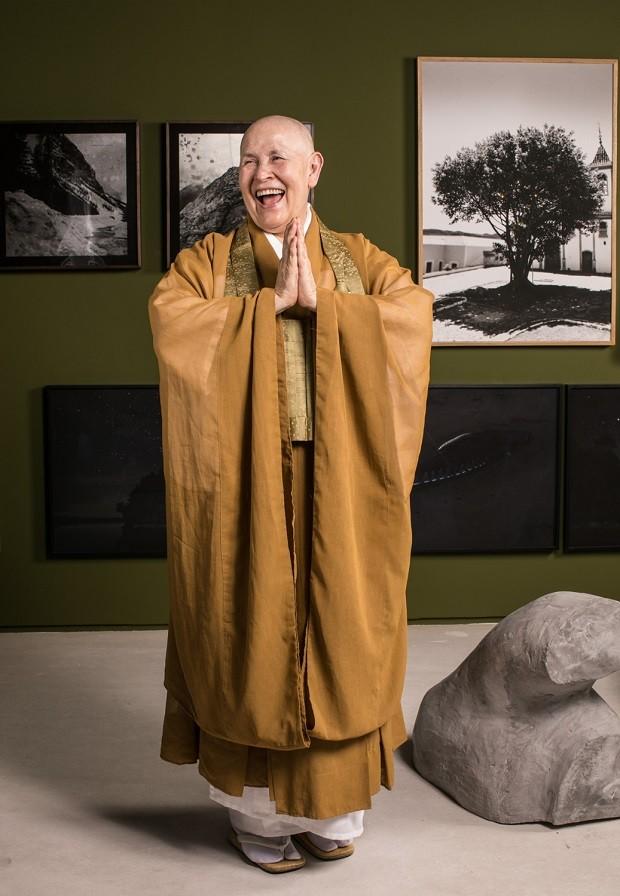 Monja Coen fala sobre o sagrado do morar no Casa Vogue Experience (Foto: Deco Cury)