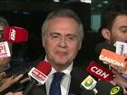 Renan diz que 'faltou reprimenda' a juiz que autorizou ação no Senado