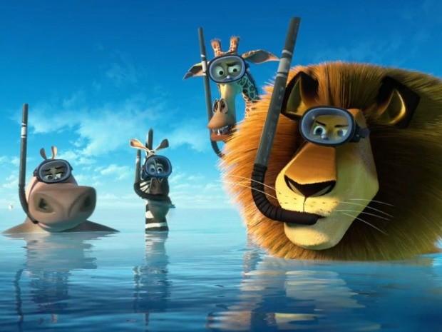 'Madagascar 3 - Os Procurados' será exibido no quinta-feira (18) (Foto: Divulgação)