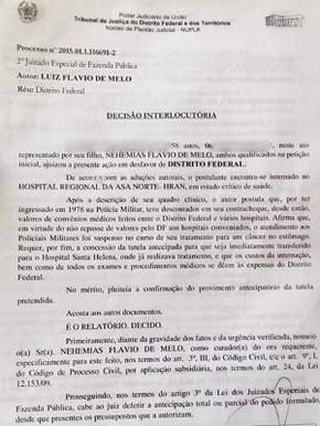 Decisão da Justiça pede a transferência imediata do PM  (Foto: Reprodução)