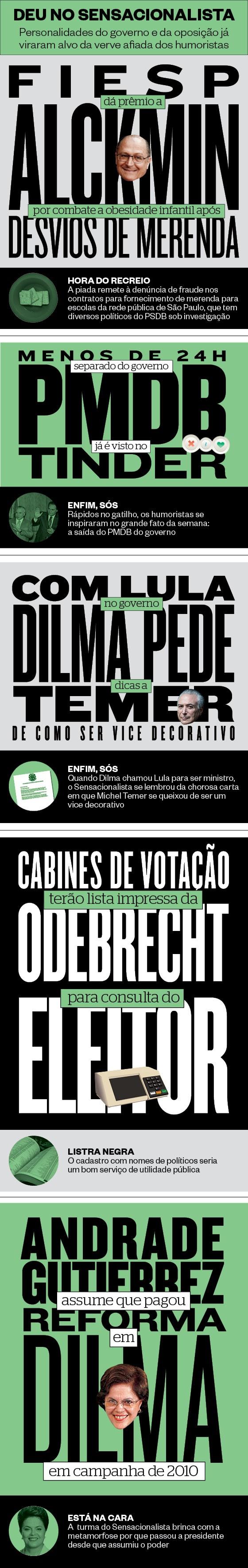 Imagem sensacionalista (Foto: Reprodução)