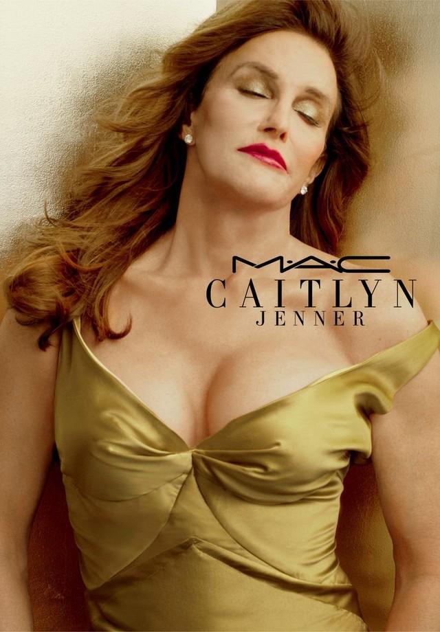 Caitlyn Jenner para MAC (Foto: Divulgação)
