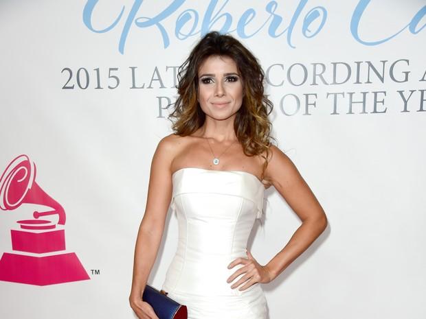 Paula Fernandes em prêmio de música em Las Vegas, nos Estados Unidos (Foto: Frazer Harrison/ Getty Images/ AFP)
