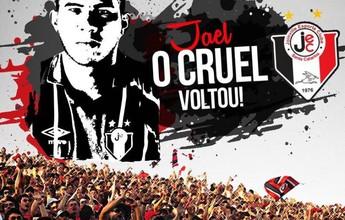 Joinville prepara grande festa com a torcida para receber Jael, o Cruel