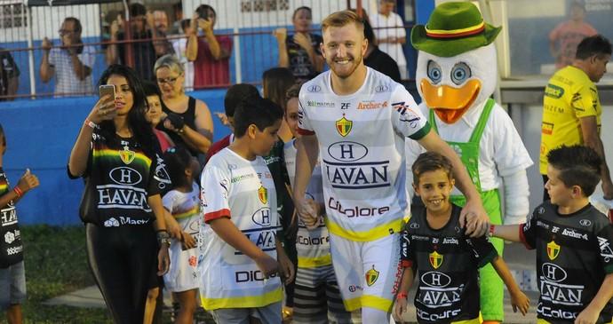 Alemão Brusque (Foto: Márcio Costódio/Brusque FC)