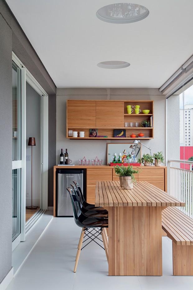 Decora o de apartamento tem sala e cozinha integradas casa e jardim decora o - Cucina birichina quarto ...