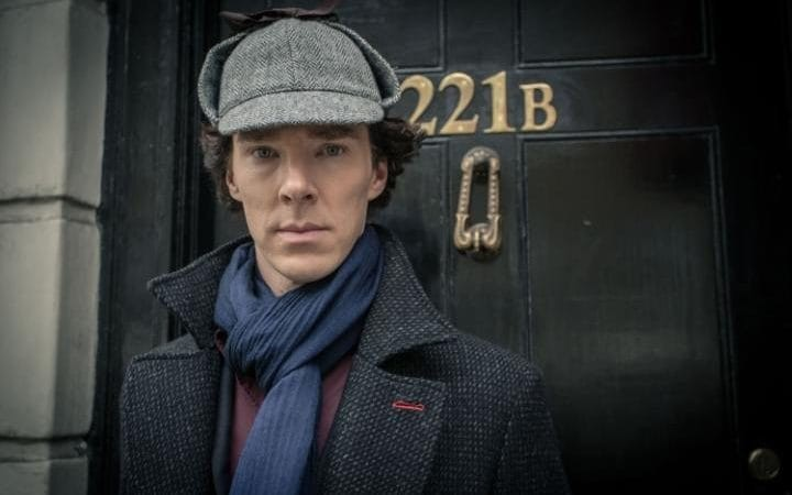 Em 'Sherlock', Benedict Cumberbatch dá vida ao famoso detetive Sherlock Holmes (Foto: Divulgação )