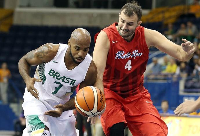 Larry Taylor, Brasil x Porto Rico Basquete Jogos Pan-Americanos Toronto 2015 (Foto: Reuters)