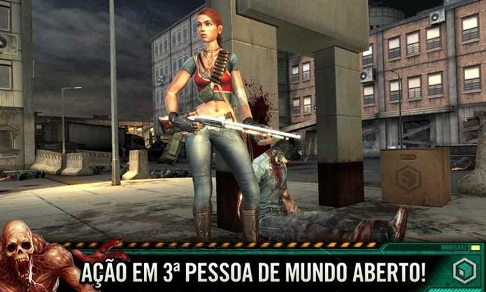 Jogo de zumbis que lembra Resident Evil (Foto: Divulgação)