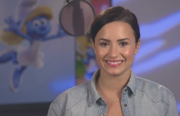 Demi Lovato dublará Smurfette em novo 'Smurfs' (Foto: Divulgação)
