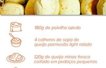 Pão de queijo com menos gordura, mais fibras e sem culpa? Veja receita!