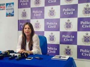 Delegada Andrea Ribeiro (Foto: Maiana Belo/G1)