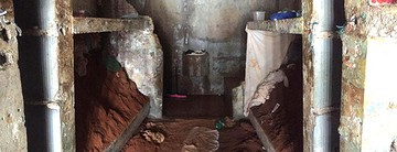Vídeo mostra 'morros de areia' dentro de cadeia (GOE)