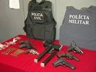 Suspeitos são presos com armas e drogas durante operação no ES