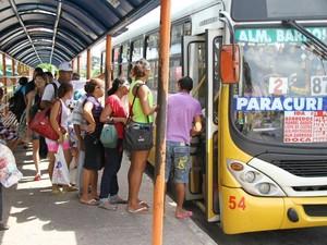Passagem de ônibus para o distrito de Mosqueiro continua custando R$ 3,60.  (Foto:  Elielson Modesto/Amazônia Jornal)