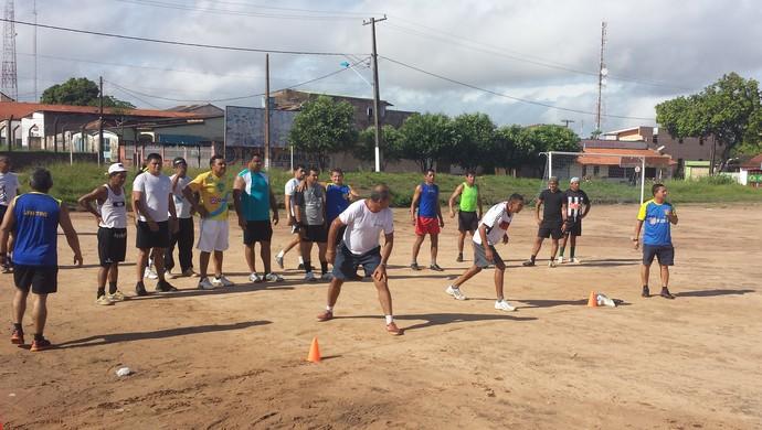 treinamento fisico (Foto: Weldon Luciano/GloboEsporte.com)
