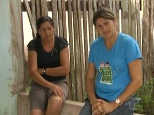 família da passageira Raimunda Lúcia (Foto: Reprodução/TV Tapajós)