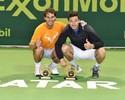 Ao lado de argentino, Rafael Nadal fica com o título das duplas em Doha