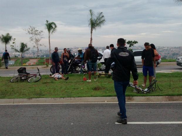 Acidente provoca morte de ciclista em Sorocaba (Foto: Fábio Duran)